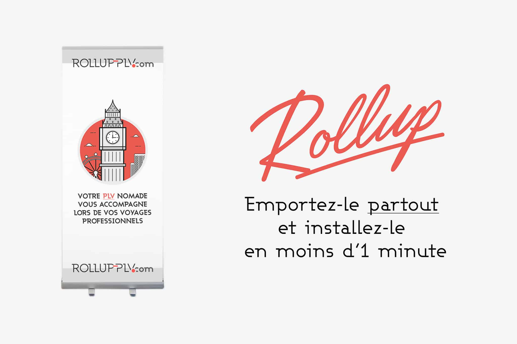 Comment imprimer un roll up