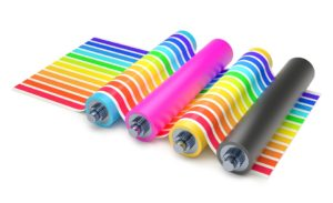 Impression roll up pas cher